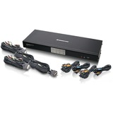 IOGEAR GCS1784 4-Port Dual Link DVI KVMP Switch with 7.1 Audio and Cables