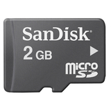 SanDisk 2GB EasyStore Micro Secure Digital (SD) Card