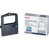 Oki Black Ribbon Cartridge 52102001