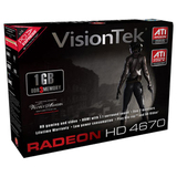 Visiontek Radeon HD 4670 Graphics Card