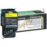 Lexmark Return Program Yellow Toner Cartridge
