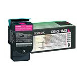 Lexmark High Yield Return Program Magenta Toner Cartridge - C540H4MG