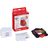 Evolis Badgy Plastic Card Consumable Kit