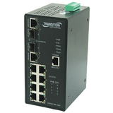 Transition Networks Industrial Managed Ethernet Switch with PoE - SISPM1040182DLRT