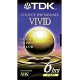 TDK VHS Videocassette 30120