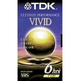High Grade VHS Videotape Cassette, 6 Hours  MPN:30120