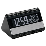 Oregon Scientific RAS200 World Travel Clock and USB Hub - RAS200