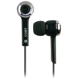 Coby CVE31 Noise Isolating Earphone