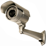 Security Labs SLC-153C Weatherproof Varifocal IR Camera - Color - CCD - Cable