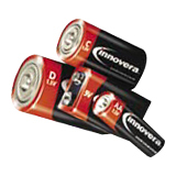 Innovera Alkaline Batteries, AA, 24/Pack