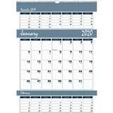 House of Doolittle Bar Harbor Triple Month Wall Calendar