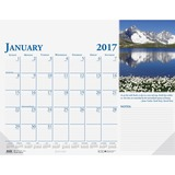 House of Doolittle Earthscapes Compact Desk Pad Calendar