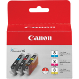 Canon CLI-8 Tri Color Ink Cartridges