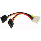 Cables Unlimited SATA Power Splitter Cable - FLT3710