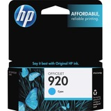 HP No. 920 Cyan Ink Cartridge