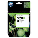 HP No. 920xl Black Ink Cartridge - CD975AN140