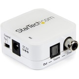 StarTech.com Two Way Digital Coax to Toslink Audio Converter
