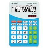 Sharp ELM332 Chiyogami Desktop Calculator ELM332BBL