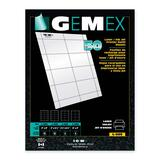 Gemex Badge Holder Insert Card L-225