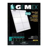 Gemex Badge Holder Insert Card L-300