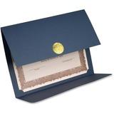 St. James Elite Medallion Fold Certificate Holders with Gold Medallion