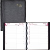 Brownline Daily Plan Diary CB965-BLK