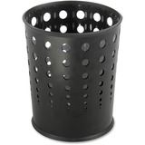 Safco Steel Bubble Wastebasket 9740BL