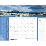 Blueline Image Collection World Panorama Desk Pad Calendar C193104B