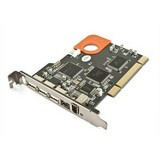 LaCie FireWire 400 & 800/USB 2.0 PCI Card
