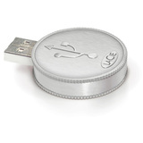 LaCie 8GB CurrenKey USB 2.0 Flash Drive
