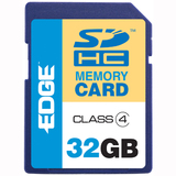 EDGE Tech 32GB ProShot Secure Digital High Capacity (SDHC) Card - (Class 4)