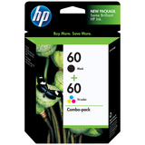 HP 60 Combo-Pack Ink Cartridge CD947FC#140