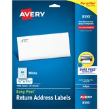 Avery Return Address Label 08195