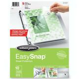 Wilson Jones EasySnap Sheet Protector