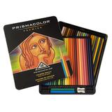 Prismacolor Thick Core Colored Pencil Set - Assorted Lead - 48 / Set