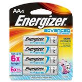 Energizer EA91BP-4 Advanced Lithium General Purpose Battery - EA91BP4