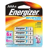 Energizer EA92BP-4 Advanced Lithium General Purpose Battery - EA92BP4