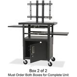 BLT27532 - Balt Adjustable Height Flat Panel TV Cart