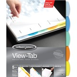 Wilson Jones View-Tab Paper Divider