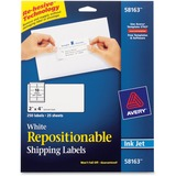 Avery Repositionable Mailing Label 58163