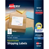 Avery Repositionable Mailing Label 58164