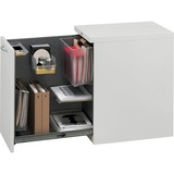 HON Flagship Left Side Access Pedestal File Cabinet