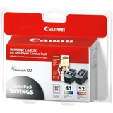 Canon CL-41/CL-52 Color/Photo Color Ink Cartridges
