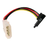 Cables Unlimited SATA Right Angle Power Adapter Cable