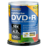 Aleratec LightScribe 16x DVD+R Media