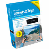 Microsoft Streets and Trips 2009 with GPS Locator