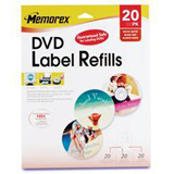 Memorex Matte DVD Label