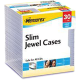 Memorex Slim CD Jewel Case 01931