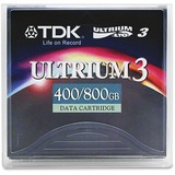 "1/2"" Ultrium LTO-3 Cartridge, 2200ft, 400GB Native/800GB Compressed Capacity  MPN:27791"