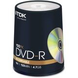 DVD-R Discs, 4.7GB, 16x, Spindle, 100/Pack  MPN:48520